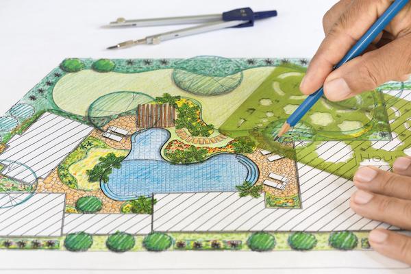 landscape design in newcastle